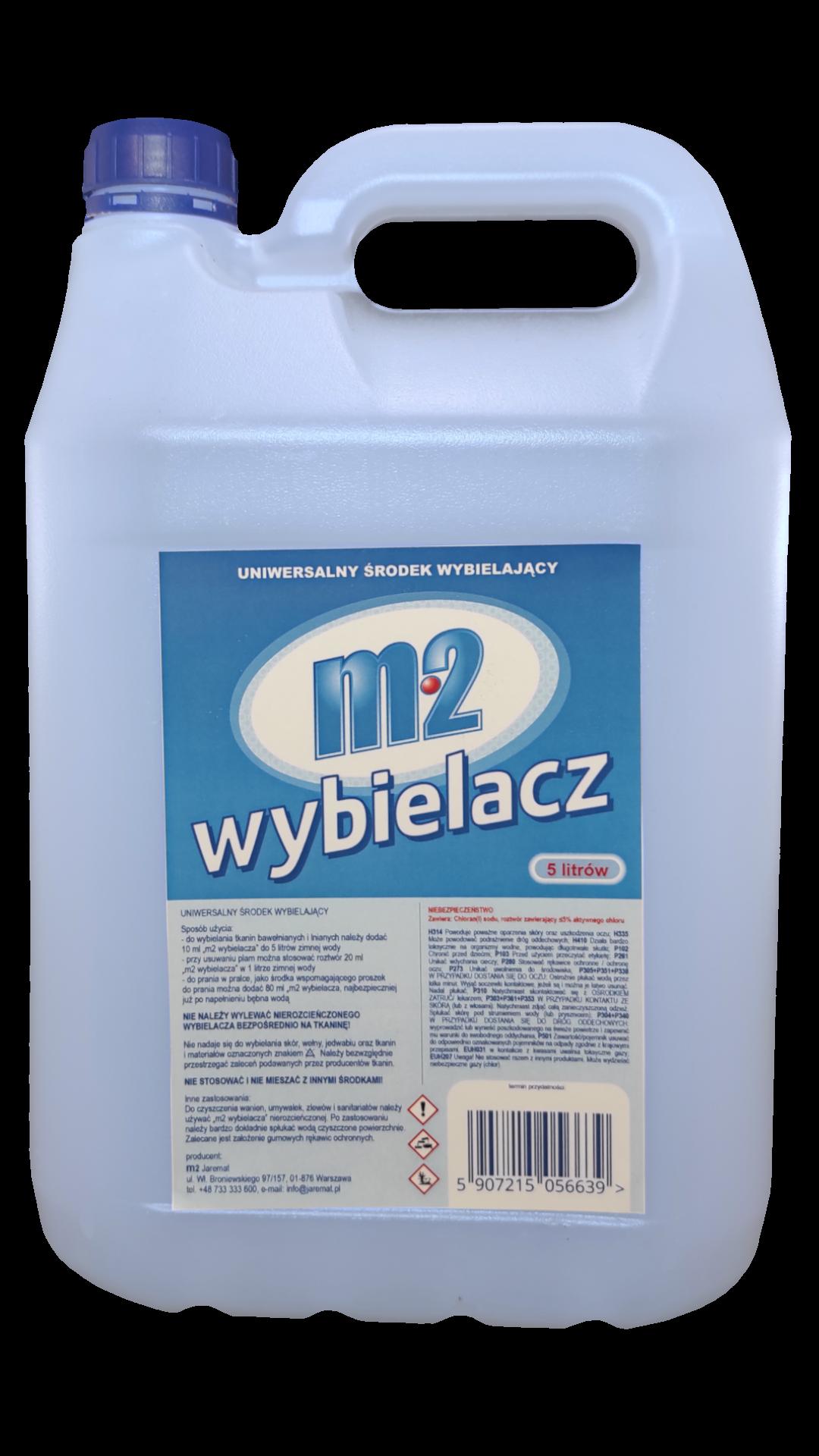 m2 Wybielacz 5 litrów
